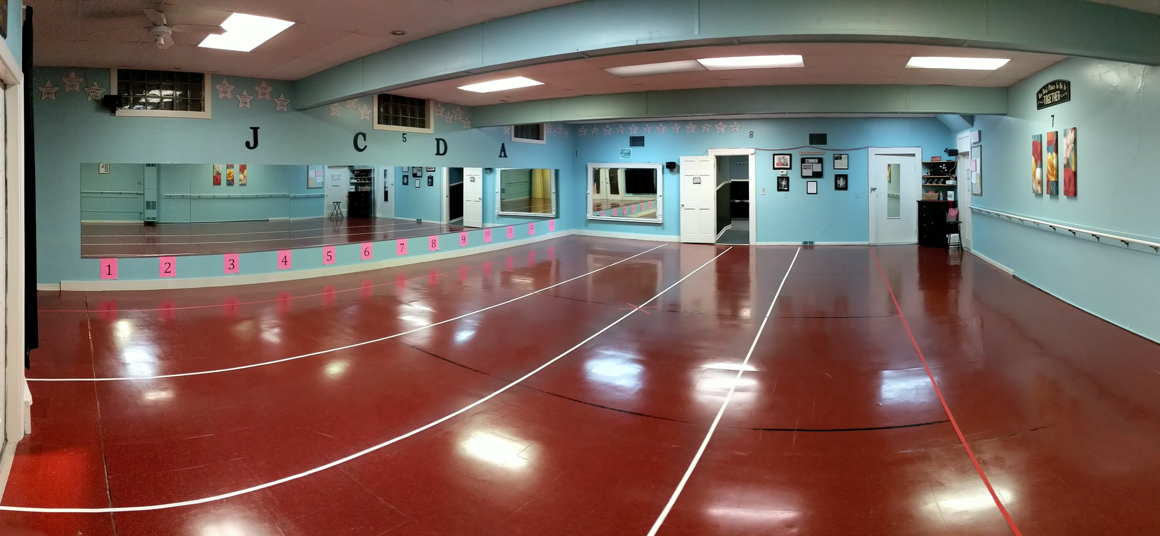 Our dance studio