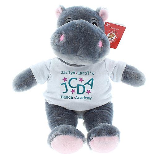 "12"" Hippo Plush"