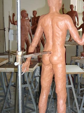 San Jose State Sculpture Class