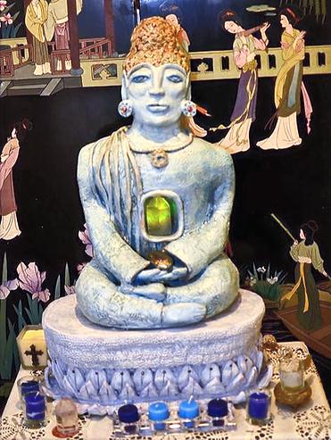 Meditating Buddha of India