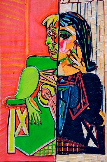 Picasso Image Paper Art