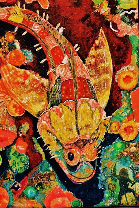 Threatened Scorpion Fish