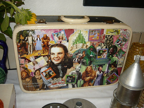 Wizard of OzVintage Suitcase Collage