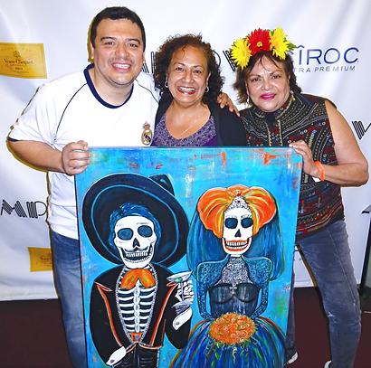 Carlos Mencia Comedian, 2013     Guest Rosa HarrisonCenter, Carolann