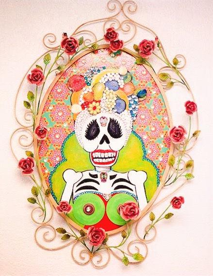 Carmen Miranda Skeleton