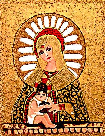 Catholic Madonna & Child
