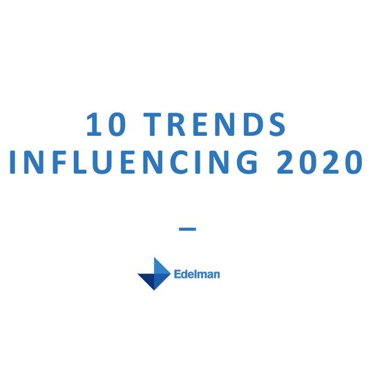 10 Trends Influencing 2020