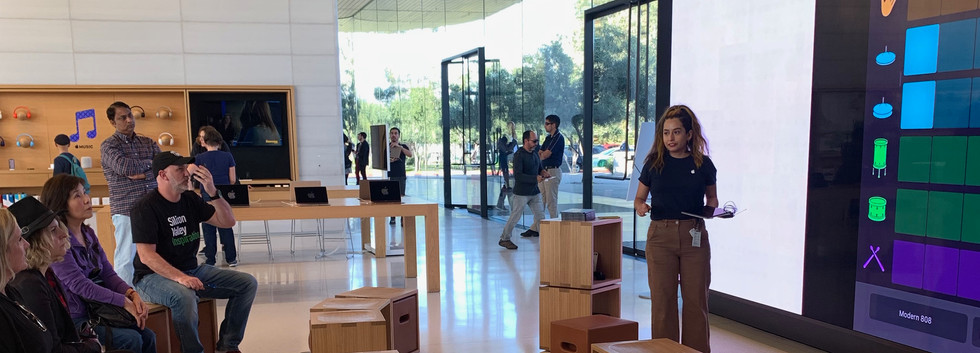 Workshop na Apple.