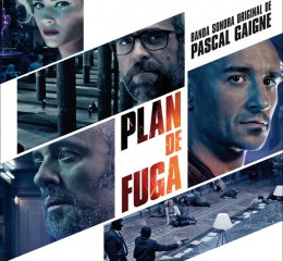"Music for the film ""Plan de fuga"" composed by Pascal Giagne recorded by the BSO edited by"