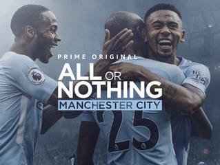 """Now in Spotify the original sound track of the documentary film """"All or Nothing: Manchester Cit"""