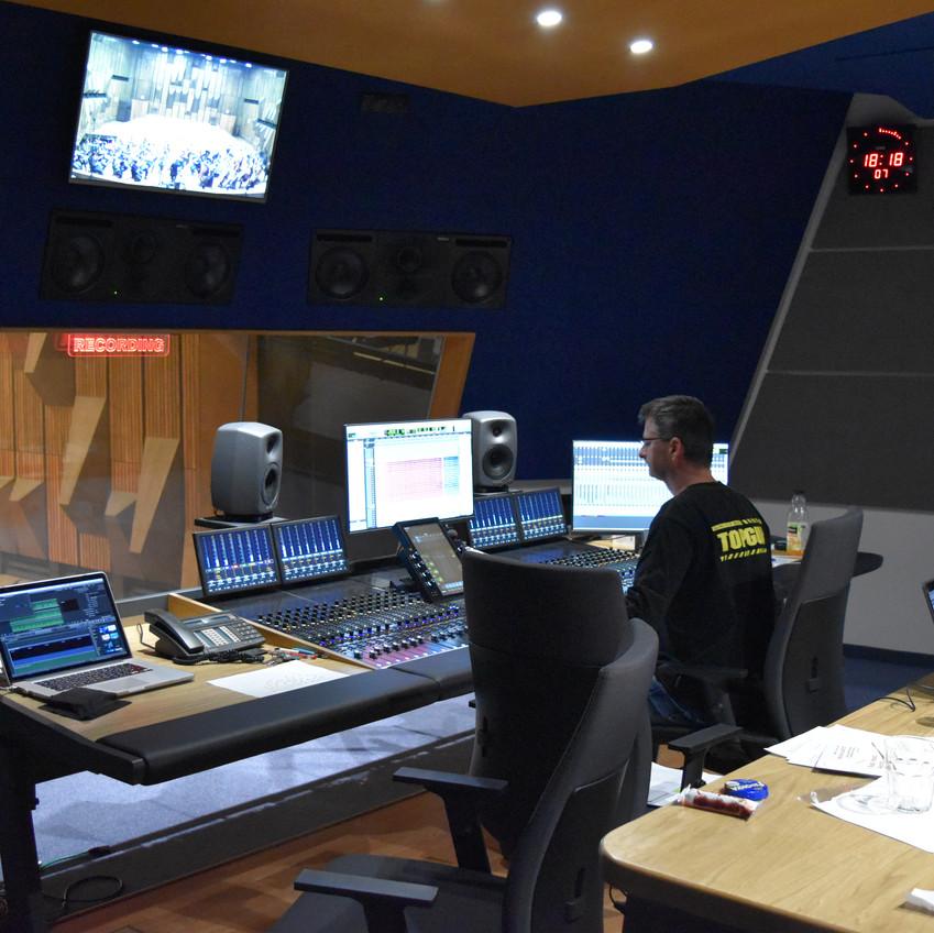 Studio 2 - new control room