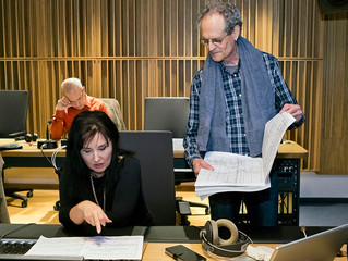 The BSO records with the gorgeous opera Diva Elena Mosuc