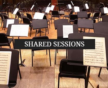 Sesiones compartidas con la BSO