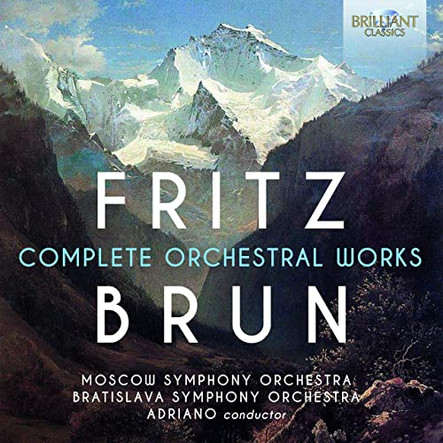 Fritz Brun: Complete Orchestra Works now in Spotify