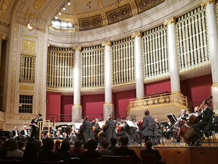 The BSO in concert: article about the concert with the Final Symphony Music in the Vienna Konzerthau