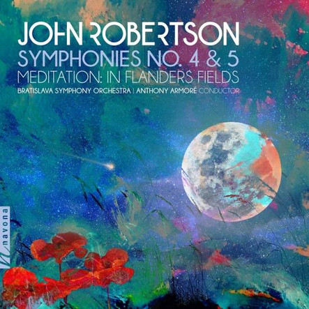 John Robertson - Symphonies n.4 & 5 - Contemporary music recording