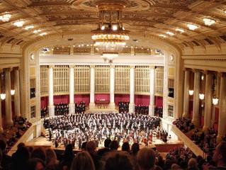 The BSO in the Vienna Konzerthaus