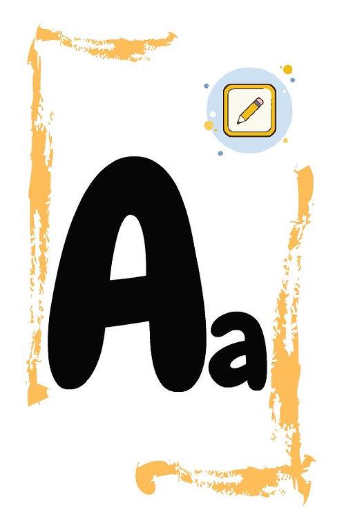 """Набор английских карточек """"Alphabet"""" (26 шт.)"""