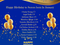 LSS January's Birthdays