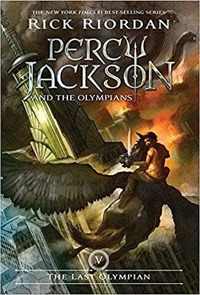 The Percy Jackson and the Olympians, Book Five- Last Olympian
