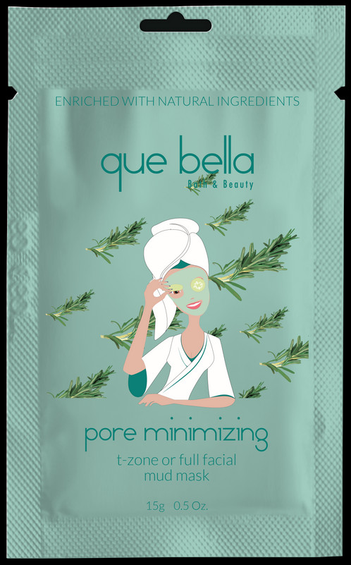 Pore Minimizing Mud Mask by que bella #6