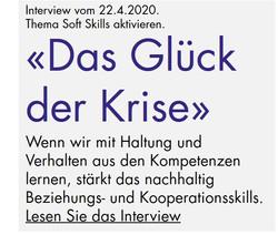 """Interview """"Das Glück der Krise"""" über Glücksfaktoren und Soft Skills mehr Resilienz und Erfolg"""