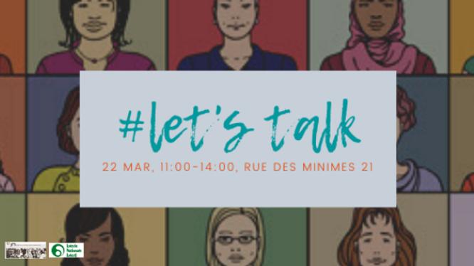 #let'sTalk