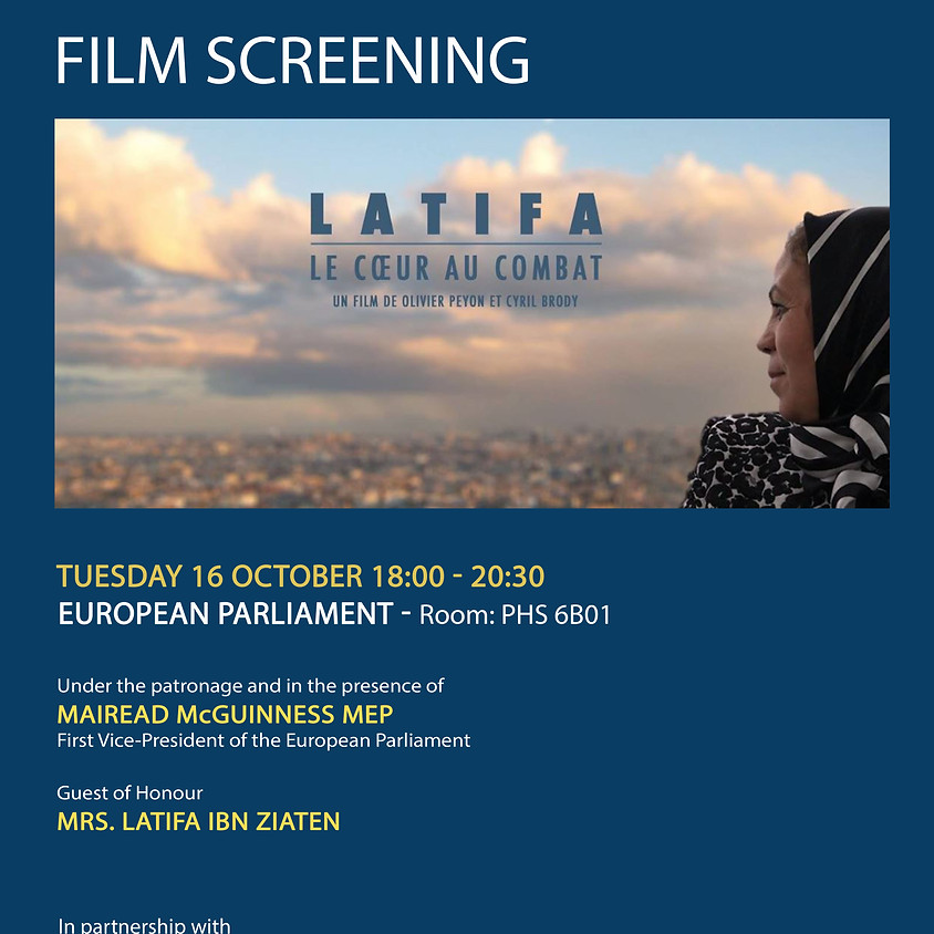 Film Screening at European Parliament – Latifa Ibn Ziaten