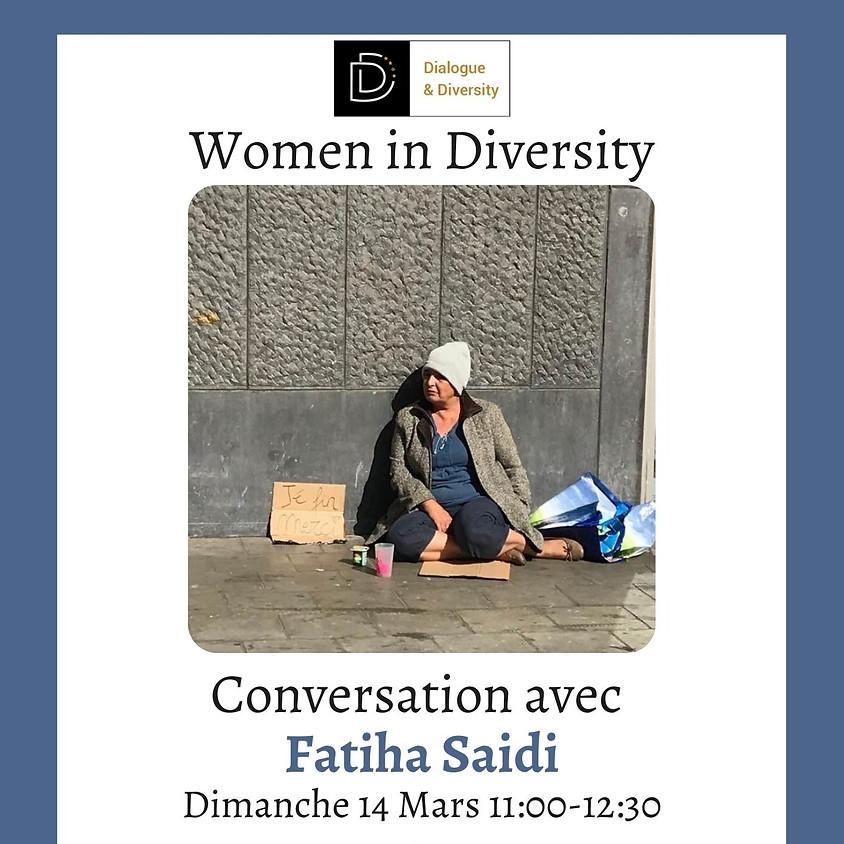 Women in Diversity Conversation avec Fatiha Saidi