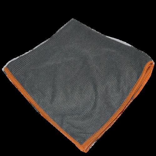 Orange Edges Microfiber Glass & Surface Towels