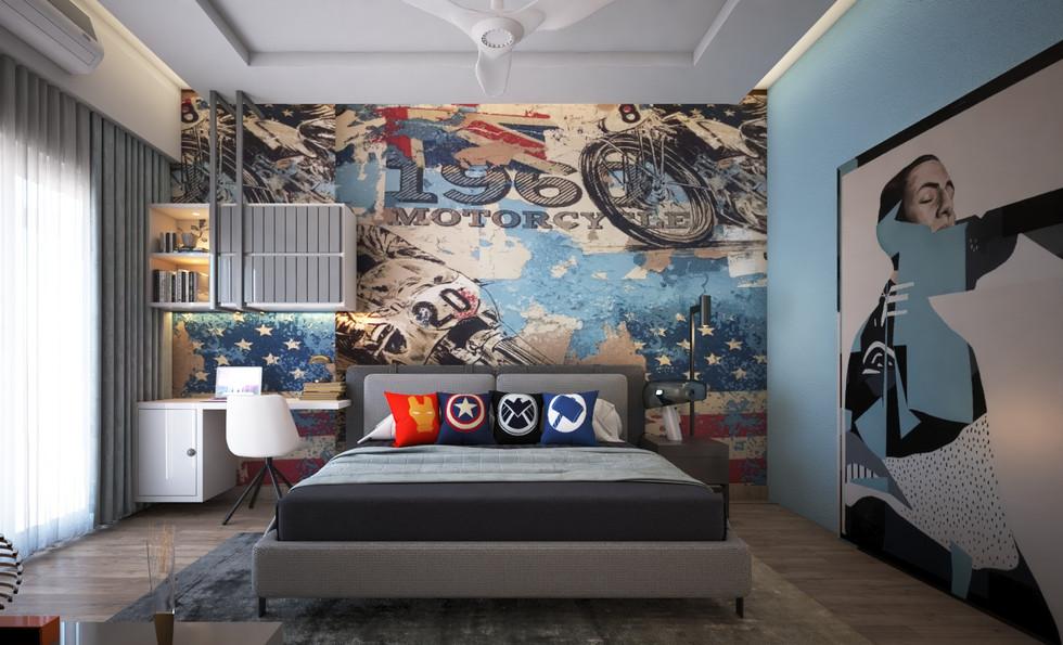 Son bedroom
