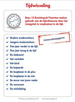 BreinImpulsen: met de tijd spelen!