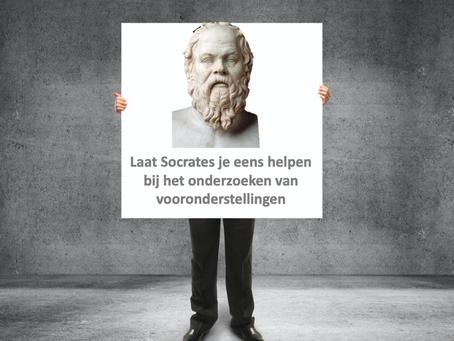 Laat Socrates je eens helpen bij het onderzoeken van de vooronderstellingen