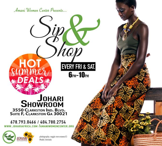 Johari Sip N Shop