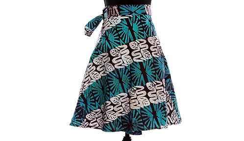 JOHARI - WRAP SKIRTS - Mix-Assorted Handmade African Prints - 10