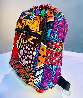 Johari Backpacks -  African Batik Print.