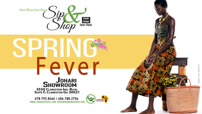 Johari Sip n Shop - Every Friday 6pm-10pm - Get to know us! Get to know Clarkston!