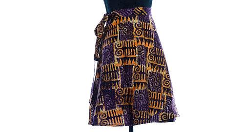 JOHARI - WRAP SKIRTS - Mix-Assorted Handmade African Prints