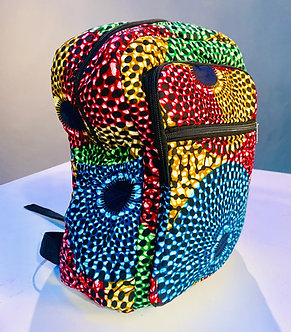 Johari - Backpacks - Ankara African Print.