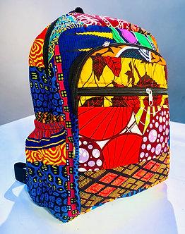 Johari Backpacks - Ankara African Print.