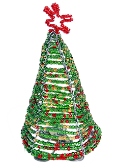 JOHARI - HANDMADE BEADED X'MAS TREE