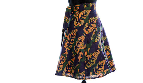 JOHARI - WRAP SKIRTS - Mix-Assorted Handmade African Prints - 100% Cotto