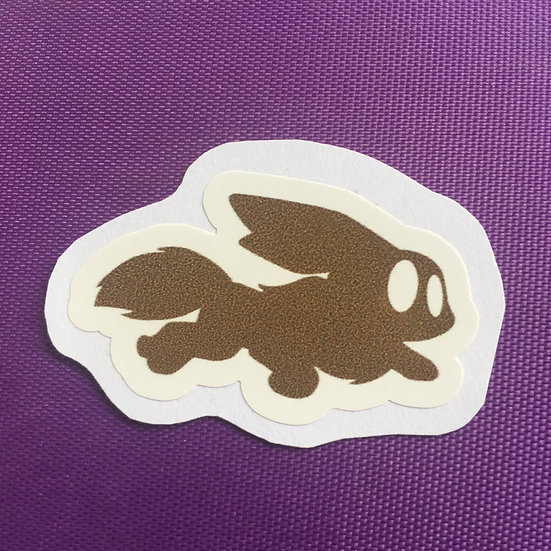Eevee Silhouette - Sticker