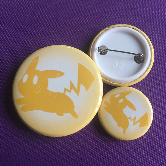 Pikachu Silhouette - Badge