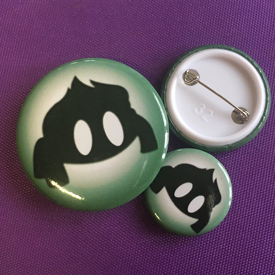 Bulbasaur Silhouette - Badge