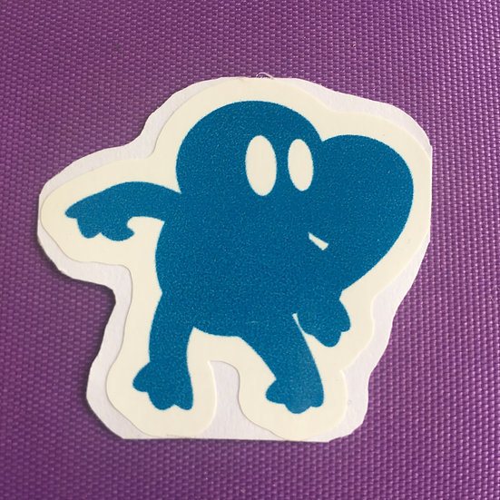 Squirtle Silhouette - Sticker