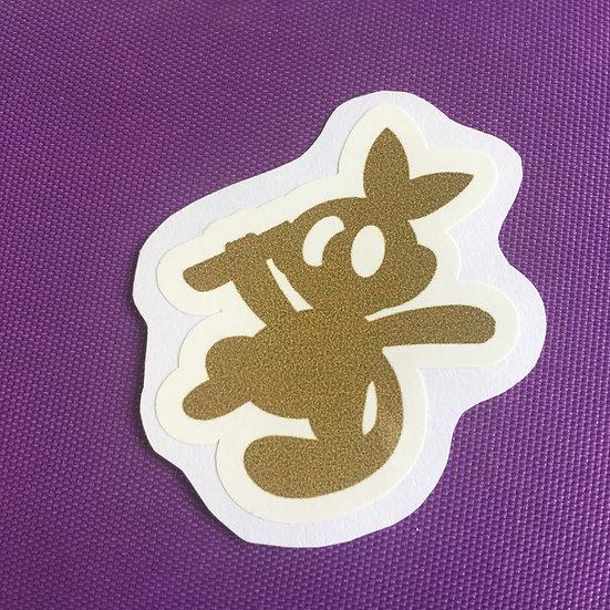 Grookey Silhouette - Sticker