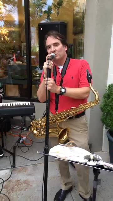 Live jazz in downtown Macon