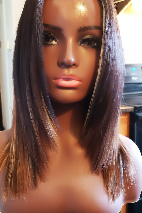 """THE """"COFFEE BROWN WIG""""(QW)"""