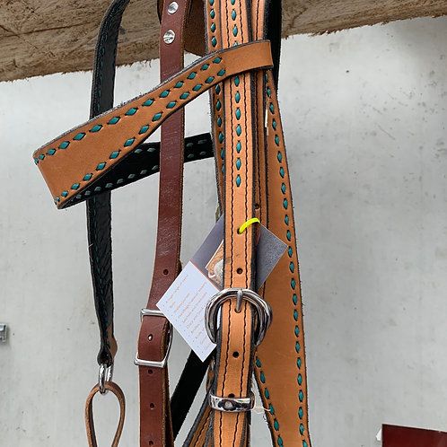 Hand Crafted Bridle/Breastplate set